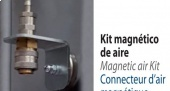 Magnetic air kit: